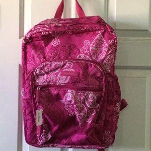 Vera Bradley Lighten Up Lrg. Campus Backpack, Pink